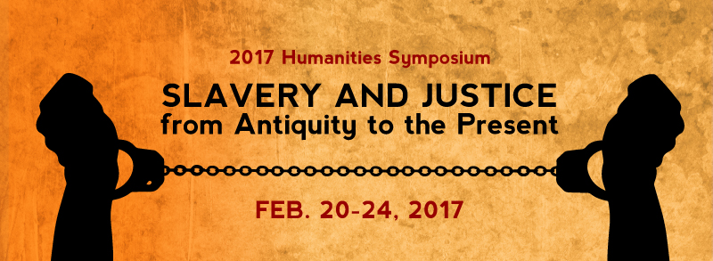 Humanities symposium banner