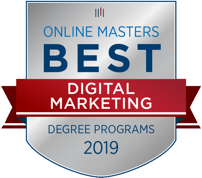 OnlineMasters.com has selected Messiah College as one of the Best Master's in Digital Marketing Programs in the nation for 2019. Additionally, the program was named Most Flexible.