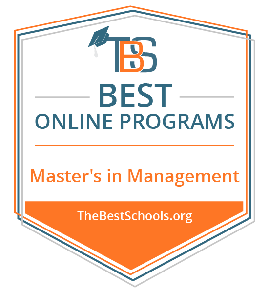 The Best Schools  Best Online Master's in Management Degree