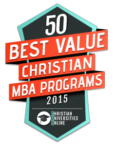 Messiah's MBA program has been ranked as a Best Value Christian MBA Program for 2015.