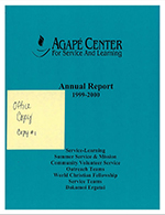 Agape reports overview 2000