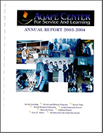 Agape reports overview 2004