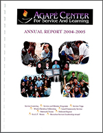 Agape reports overview 2005 1