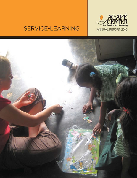 Agape reports service 2010