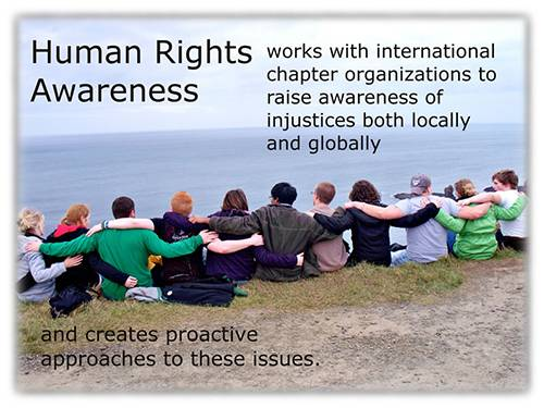 Agape student human rights awareness 1