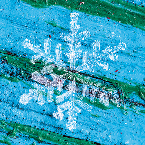 Avalanche pro finds art in photographing snowflakes