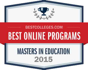 Messiah College ranked in the 2015 top 10 Best Online Master's in Education Programs by BestColleges.com.