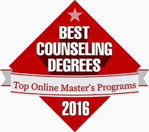 Best counseling degrees top online masters logo.