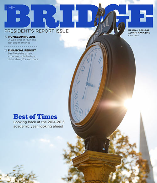 Fall issue of the Bridge Magazine front cover