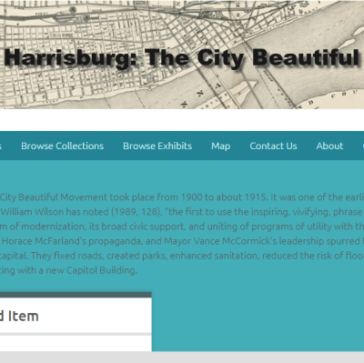 The City Beautiful Movement in Harrisburg