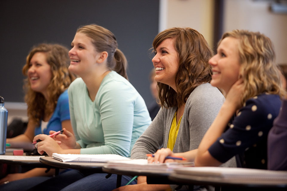 Classroom photography by Matthew Tennison