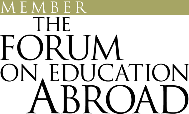The forum on education abroad member logo