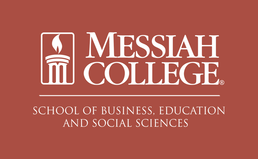 Red logo for Messiah College's BESS department.