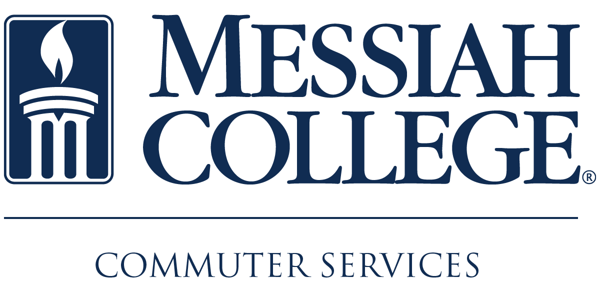 Commuter Services logo with flame