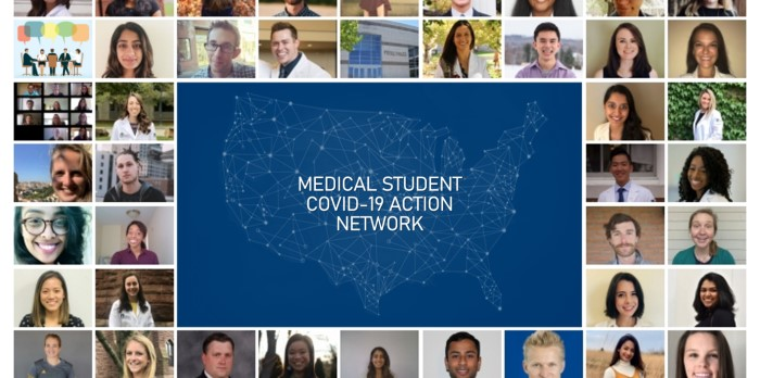 Vinh Le '19 creates Medical Student COVID-19 Action Network (MSCAN) with team of fellow students