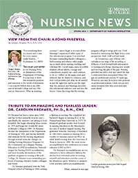 Nursing news spring 14