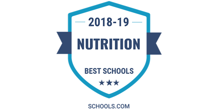 Messiah's undergraduate nutrition program ranked a top 10 program in the U.S.