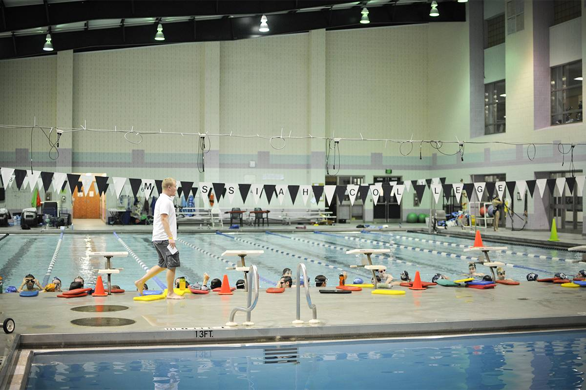 Sollenberger Sports Center swimming pool.