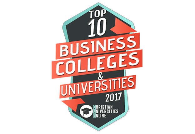 Top 10 business colleges and universities 2017 logo