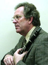 Dr. William R. Higgins-Professor Emeritus of Music and Computer Education: Applied Woodwinds; Instrumental Methods; Woodwind Methods; Computer Applications in Music; Instrument Maintenance and Repair