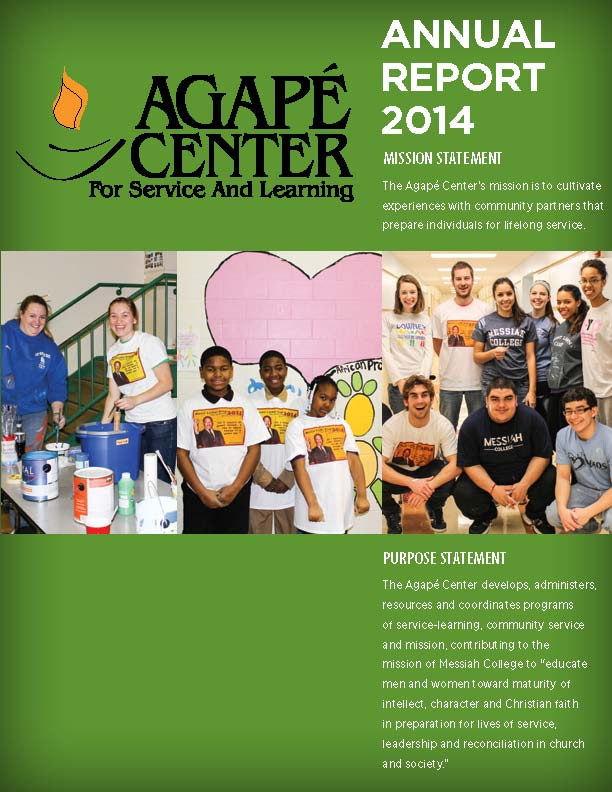 Agape Annual Report 2014