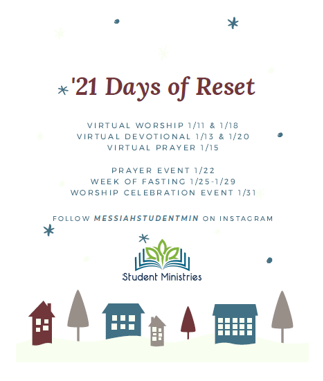 21 Days of reset poster