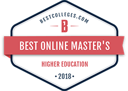 Best Colleges online higher education masters logo