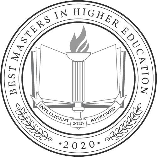 Intelligent 2020 Best MA in Higher Education