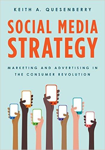 "Photo of ""Social Media Strategy"" book."